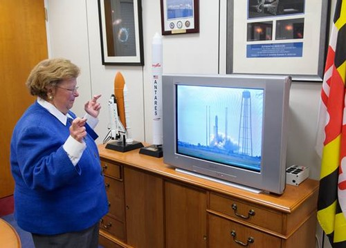 Mikulski watches launch